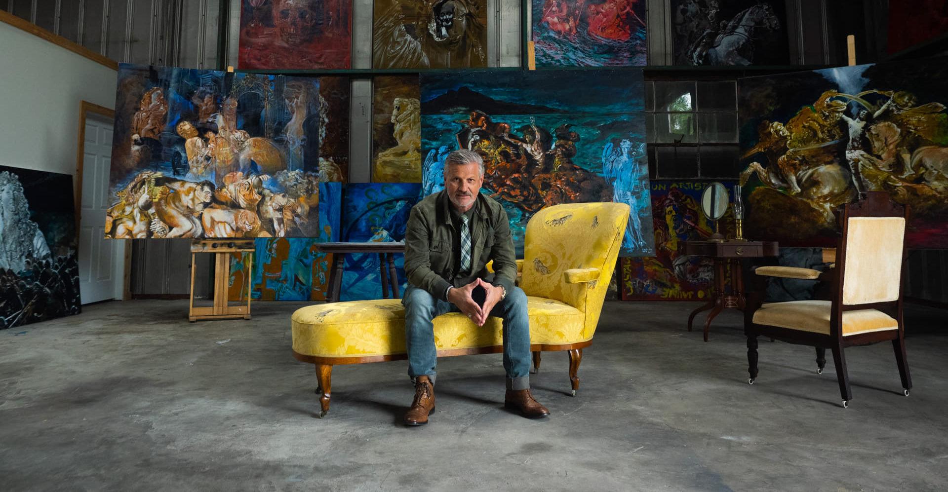 Photo of Geff Strik : un peintre français de plus en plus apprécié à St Petersburg