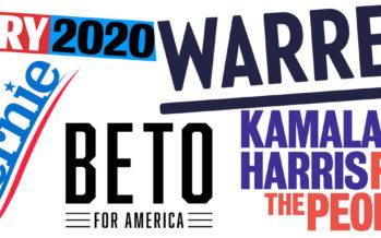 Les candidats à la Primaire Démocrate de 2020 aux Etats-Unis