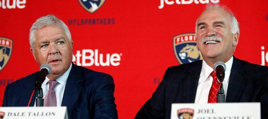 Joel Quenneville est le nouvel entraîneur-chef des Florida Panthers !