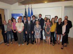 Les attachés de presse de la diplomatie française nord-américaine sont en séminaire à Miami