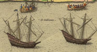 Ribault arrive!  (suite de notre roman historique «Terre d'Espérance» sur l'arrivée des Français en Floride)