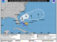 La tempête tropicale Humberto est proche de la Floride
