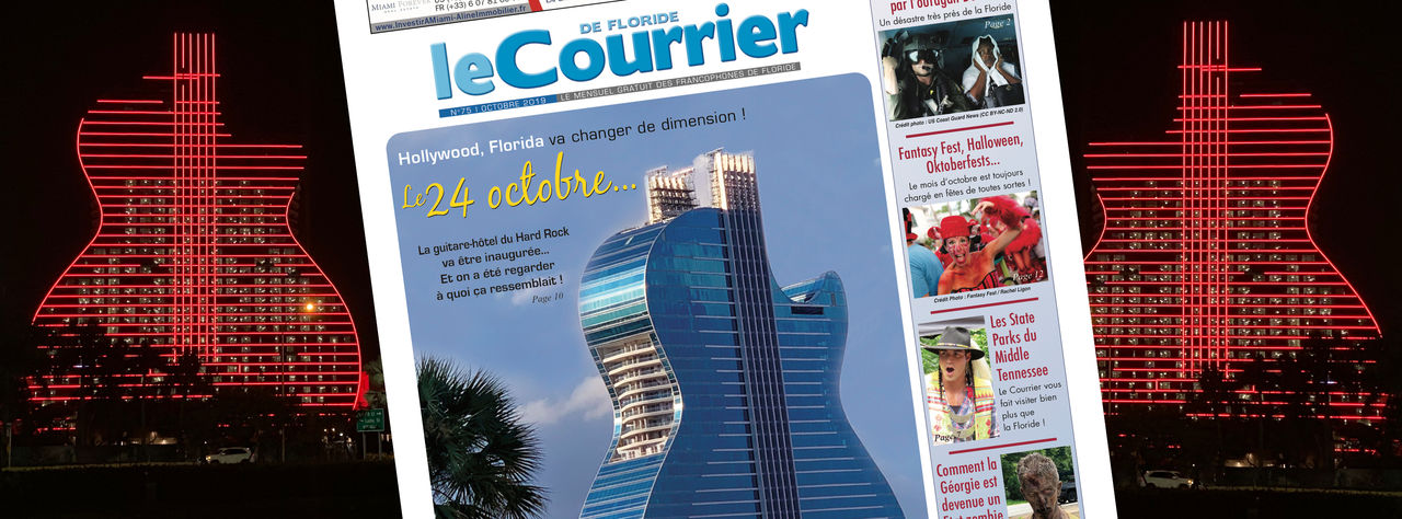 Photo of Le Courrier de Floride d'Octobre 2019 est sorti !